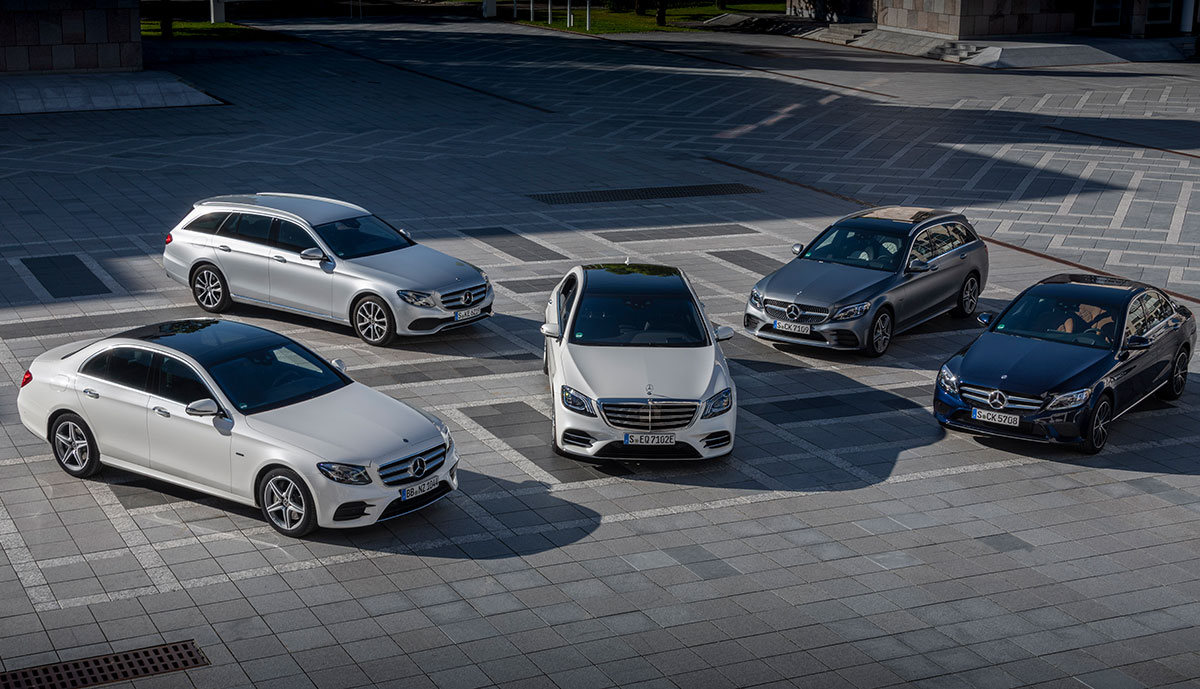 Mercedes-Plug-in-Hybride