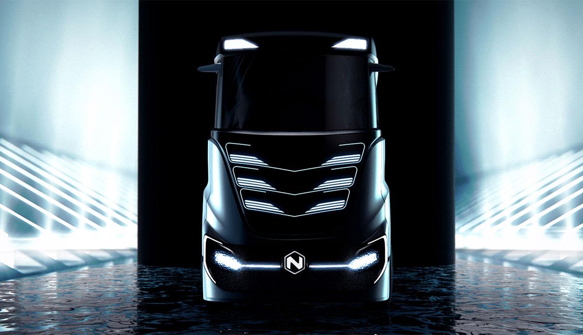 Nikola-Motor-Batterie-Lkw