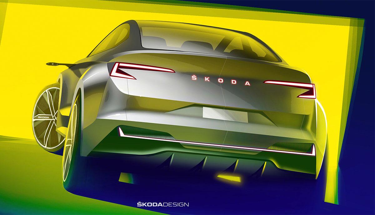 Skoda-Vision-iV-Heck