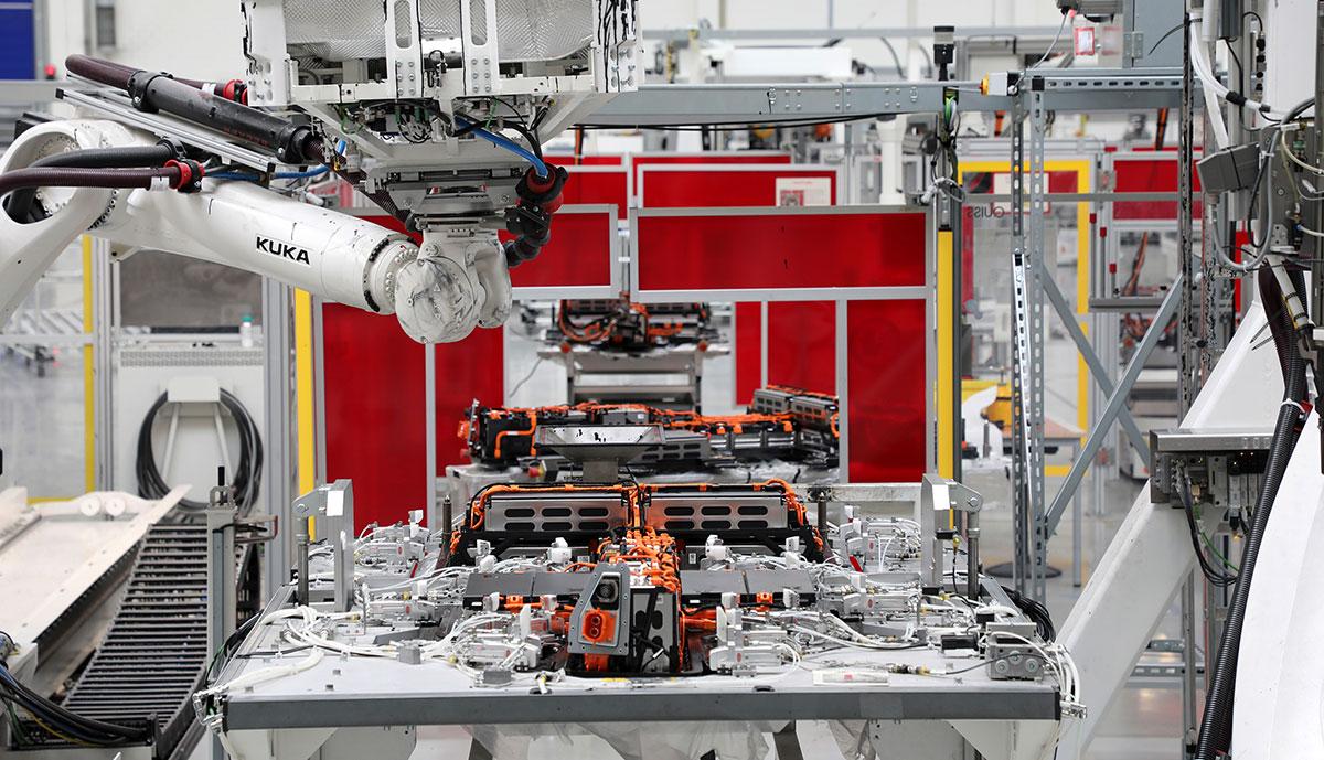 VW-Batteriefertigung