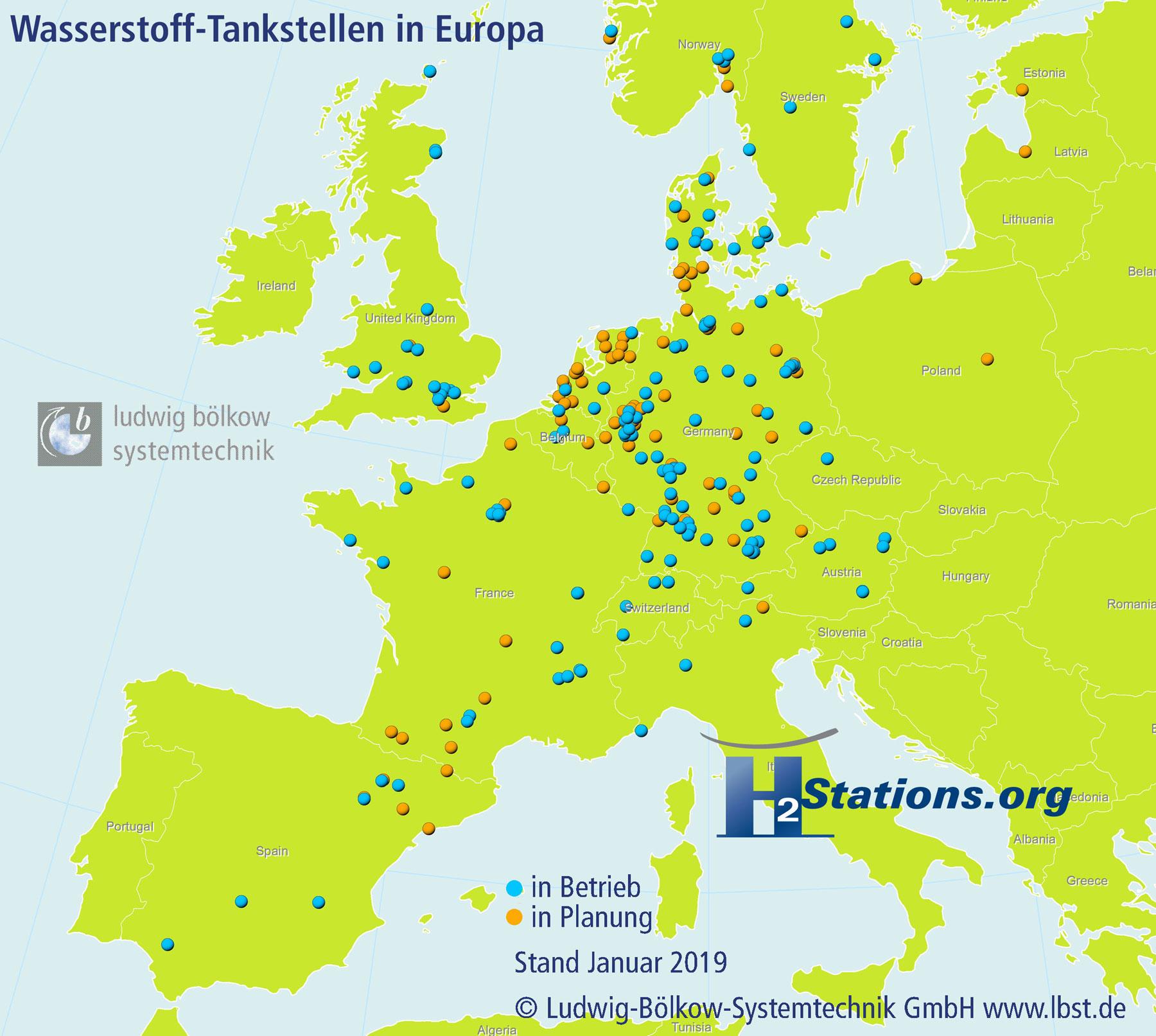 Wasserstoff-Tankstellen-Europa-2019