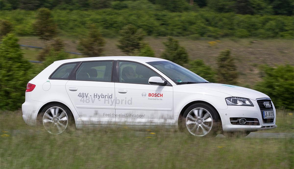 Bosch-Elektroauto-Hybrid