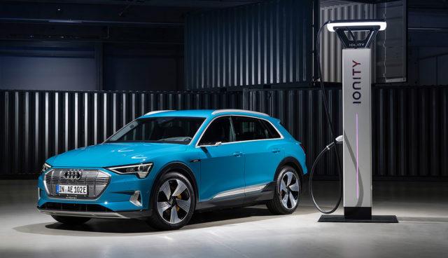 Ionity-Elektroauto-Schnellladestation