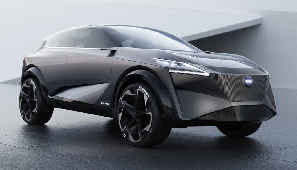 Nissan IMQ gibt Ausblick auf neuen E-Antrieb (Video ...