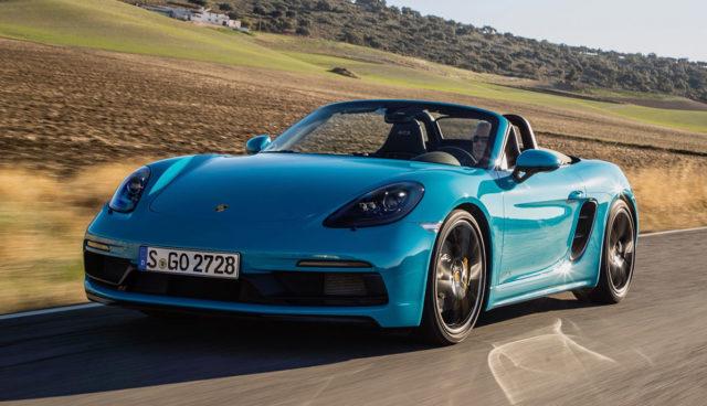 Porsche-Boxster-Elektroauto