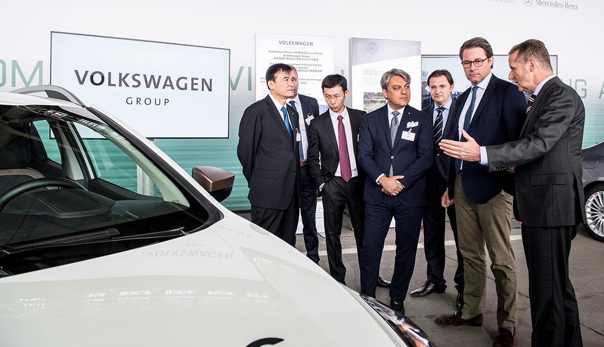 Scheuer-Elektroauto