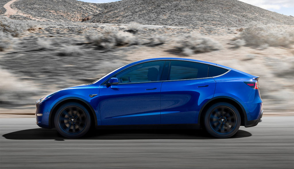 Tesla Enth 252 Llt Kompakt Suv Model Y Bilder Video Daten