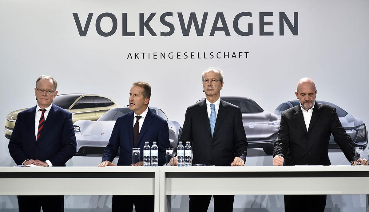 Volkswagen-Aufsichtsratschef: Kein Plan B zur E-Mobilität