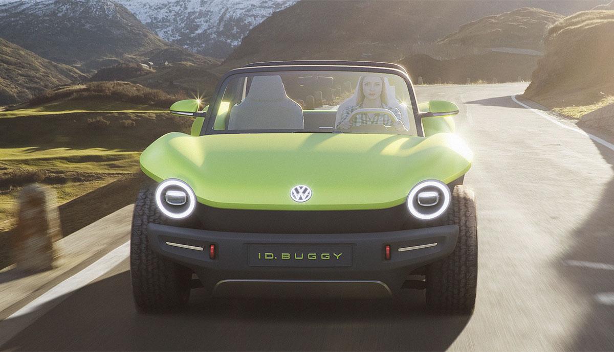 Vw Dune Buggy >> VW zeigt Elektroauto-Studie I.D. BUGGY (Bilder & Video ...