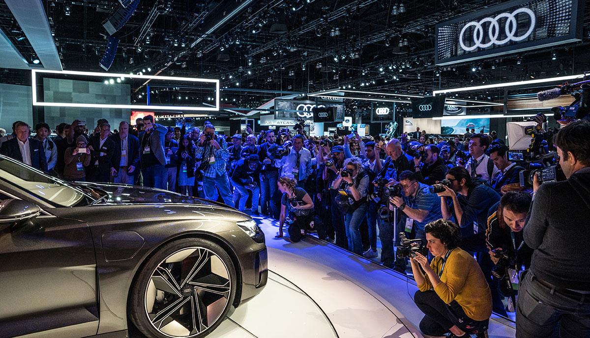 Audi-Elektroauto-Limousine