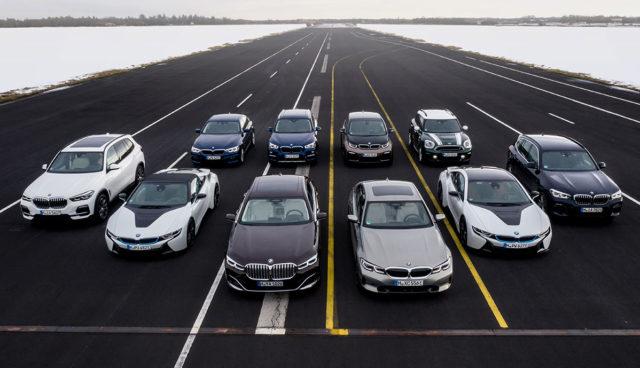 BMW-Elektroautos