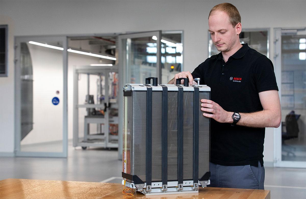 Bosch-Brennstoffzelle-Powercell