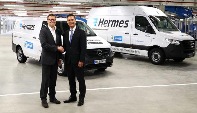 Mercedes-Elektrotransporter
