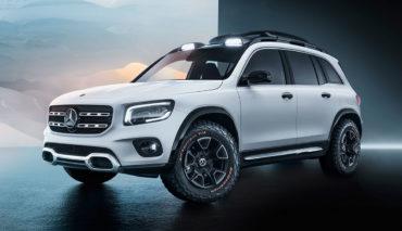 Mercedes-GLB-Elektroauto