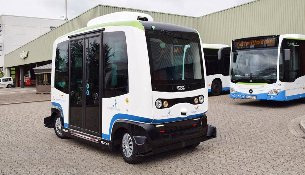 Monheim setzt ab Herbst autonome Elektrobusse im Linienverkehr ein