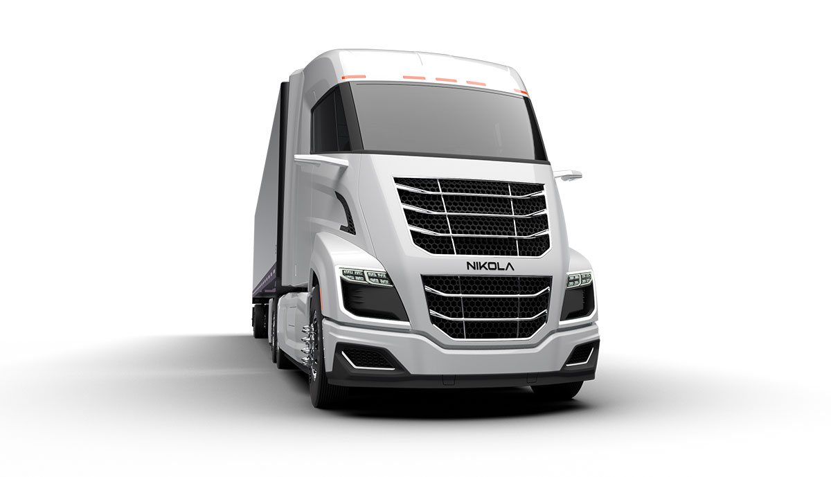 So viel Bosch-Technik steckt in den Wasserstoff-Lastern von Nikola Motor