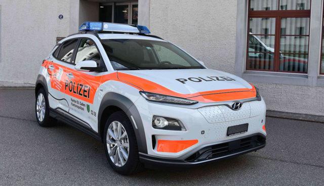Polizei-St.-Gallen-Elektroauto-Hyundia-Kona-2019-1