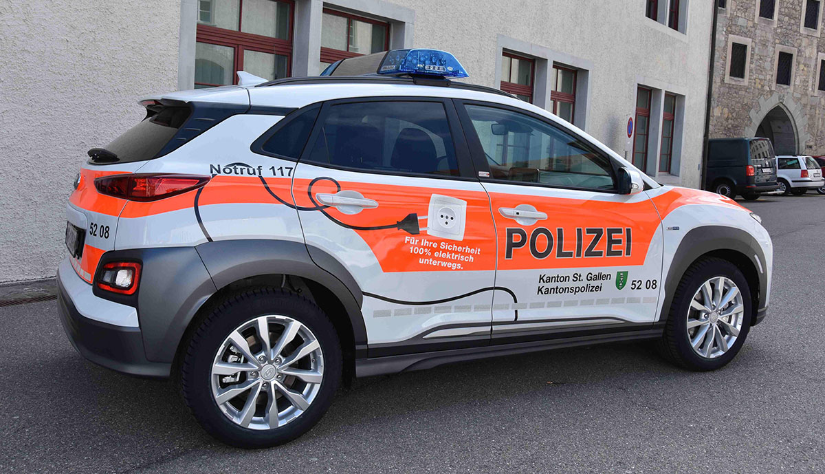 Polizei-St.-Gallen-Elektroauto-Hyundia-Kona-2019-2