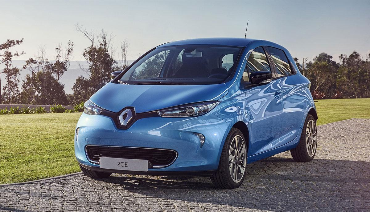 Renault-Elektroauto-Aktion