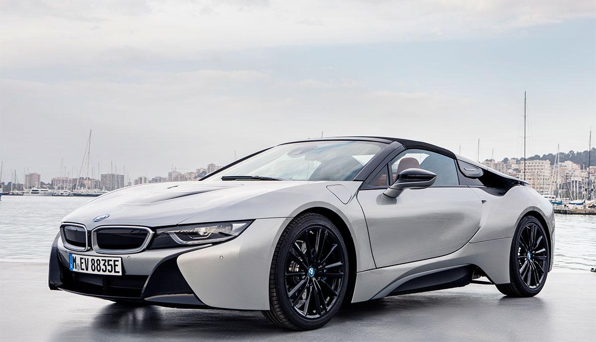 BMW-i8-Elektroauto