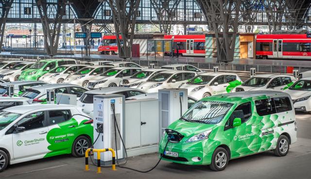 CleverShuttle-Elektroauto-Muenchen