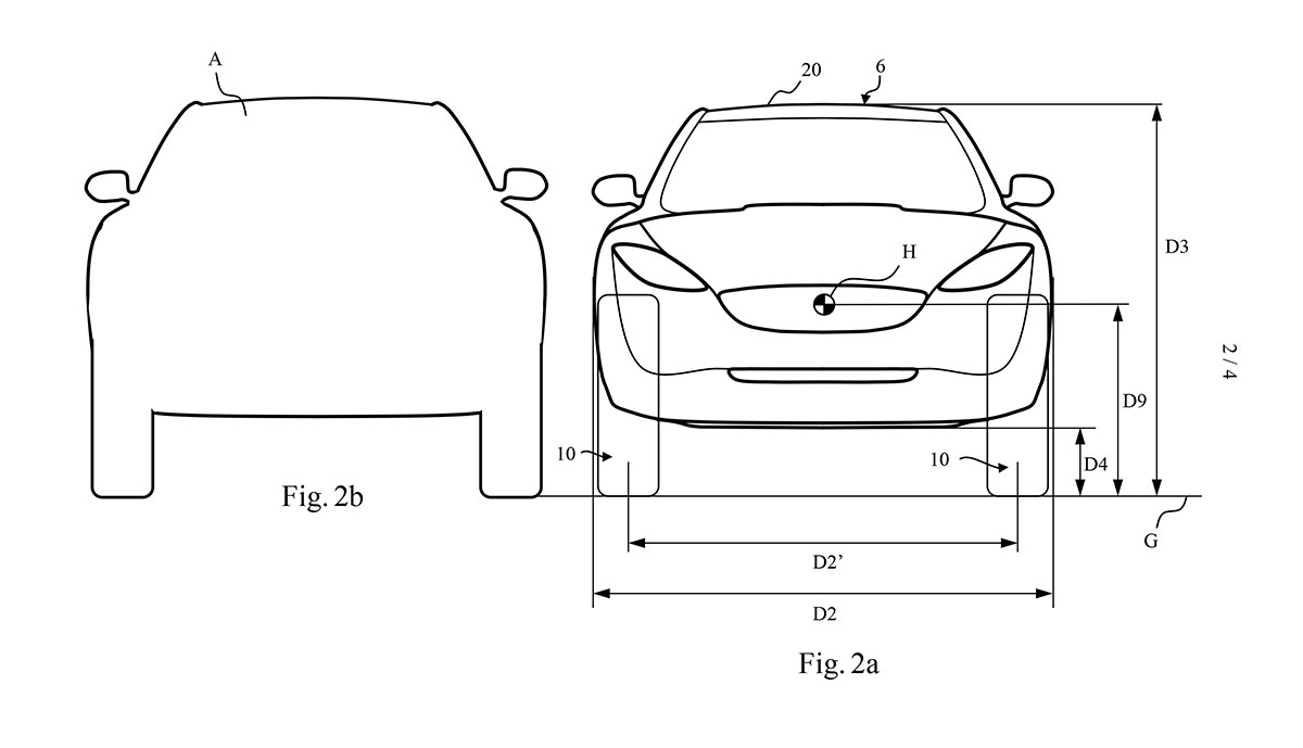 Dyson Elektroauto Patente 2019-2