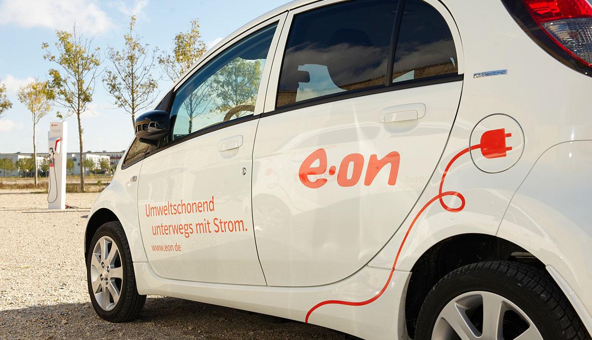 E.On-Elektroauto-Strom