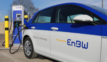 EnBW-Elektroauto-Schnellladestation