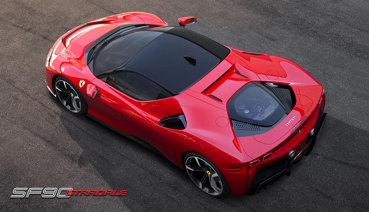 Ferrari Sf90 Stradale Neuer Plug In Hybrid Mit 1000 Ps Ecomento De