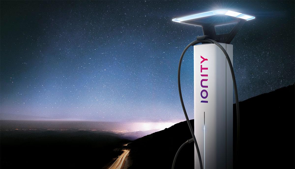 Ionity-Elektroauto-Schnellladestationen