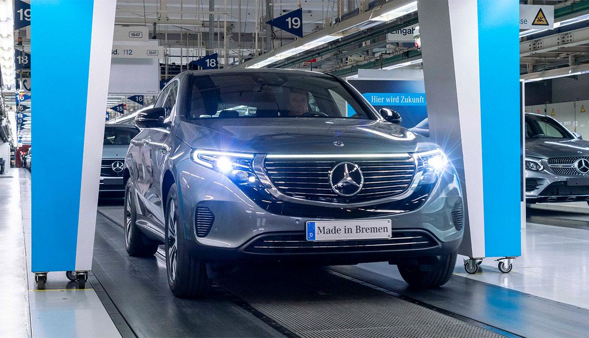 Mercedes-EQC-Produktionsmenge