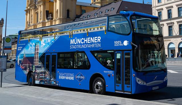 Muenchen-Elektro-Touristenbus