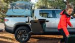 Rivian zeigt ausfahrbare Küche für Elektro-Pickup R1T