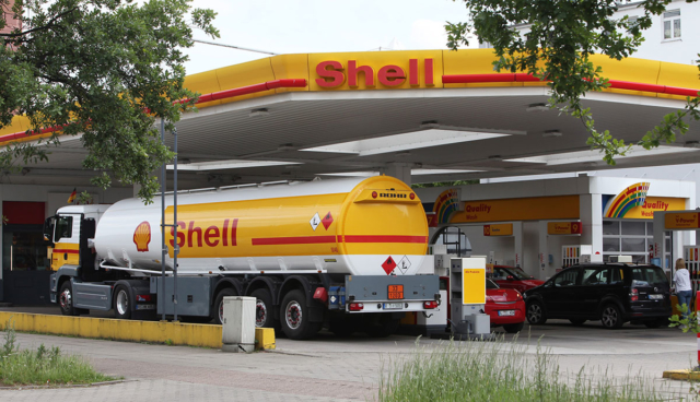 Shell-Elektroauto-Ladestation