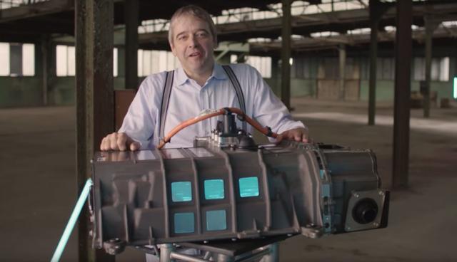 Toyota-Wasserstoff-Elektroauto-Technik