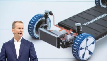 VW-Diess-Tesla-Elektroauto