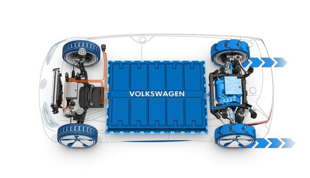 VW-Elektroauto-Batterie-Zellfertigung