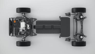 Volvo-Elektroauto-Batterie