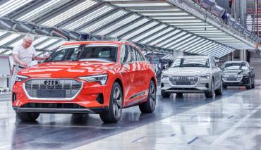 Audi-e-tron-Produktion