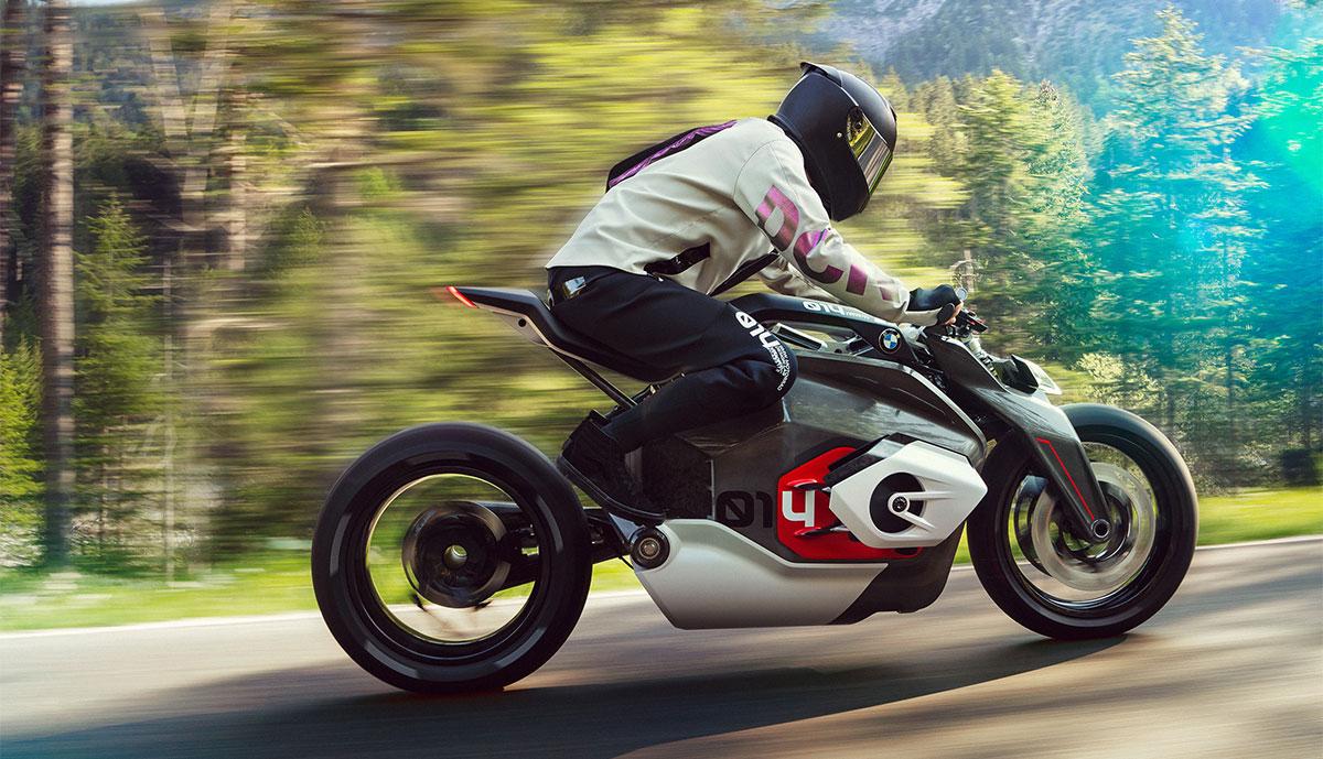 BMW Motorrad Vision DC Roadster: Ausblick auf Elektro-Motorrad