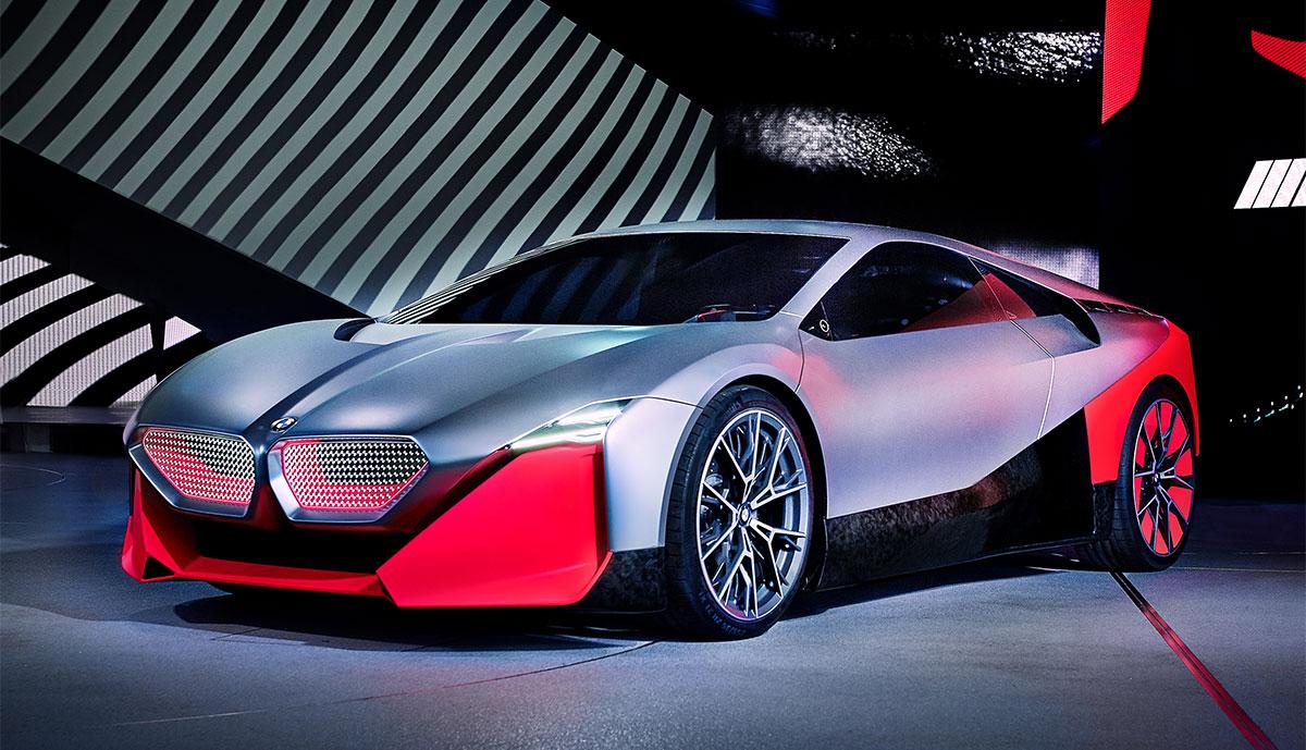BMW Vision M NEXT: Vorschau auf E-Sportler