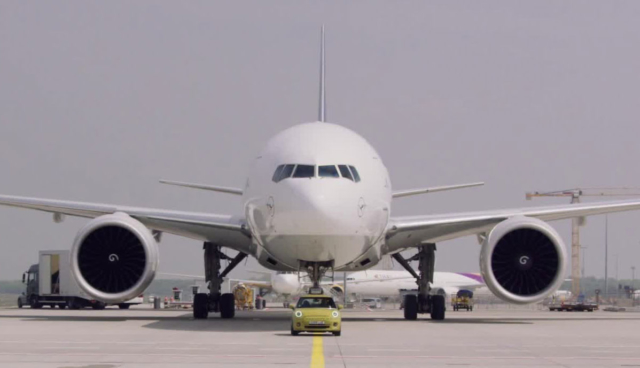 Elektro-MINI-Flugzeug