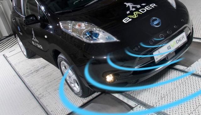 Elektroauto-Warngeraeusch