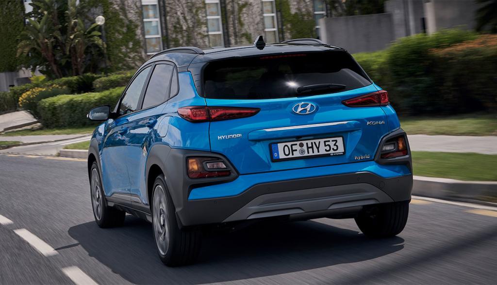 Hyundai Kona Hybrid 2019-1
