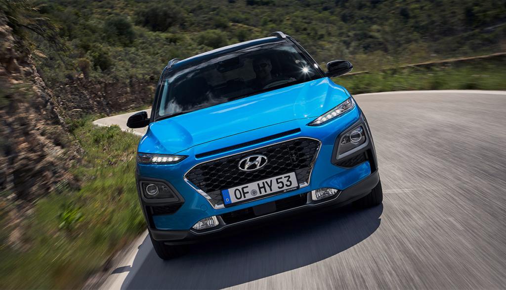 Hyundai Kona Hybrid 2019-2
