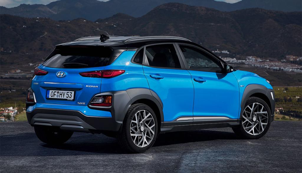 Hyundai Kona Hybrid 2019-3