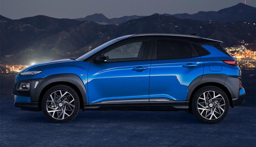 Hyundai Kona Hybrid 2019-4