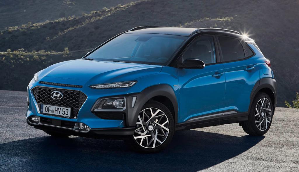 Hyundai Kona Hybrid 2019-5