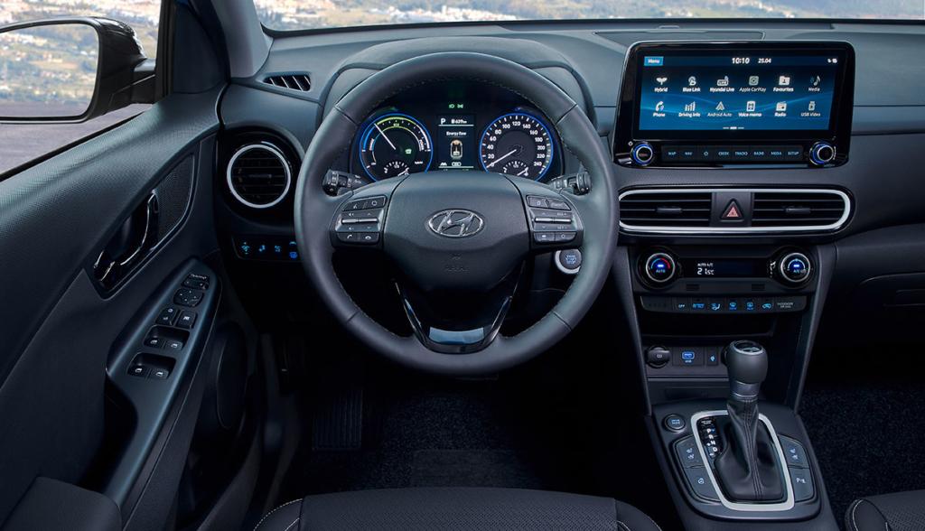 Hyundai Kona Hybrid 2019-6