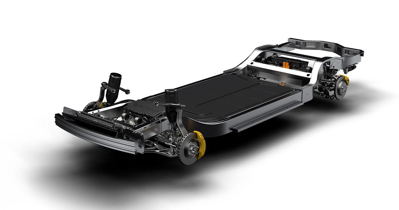 Rivian-Elektroauto-Technik